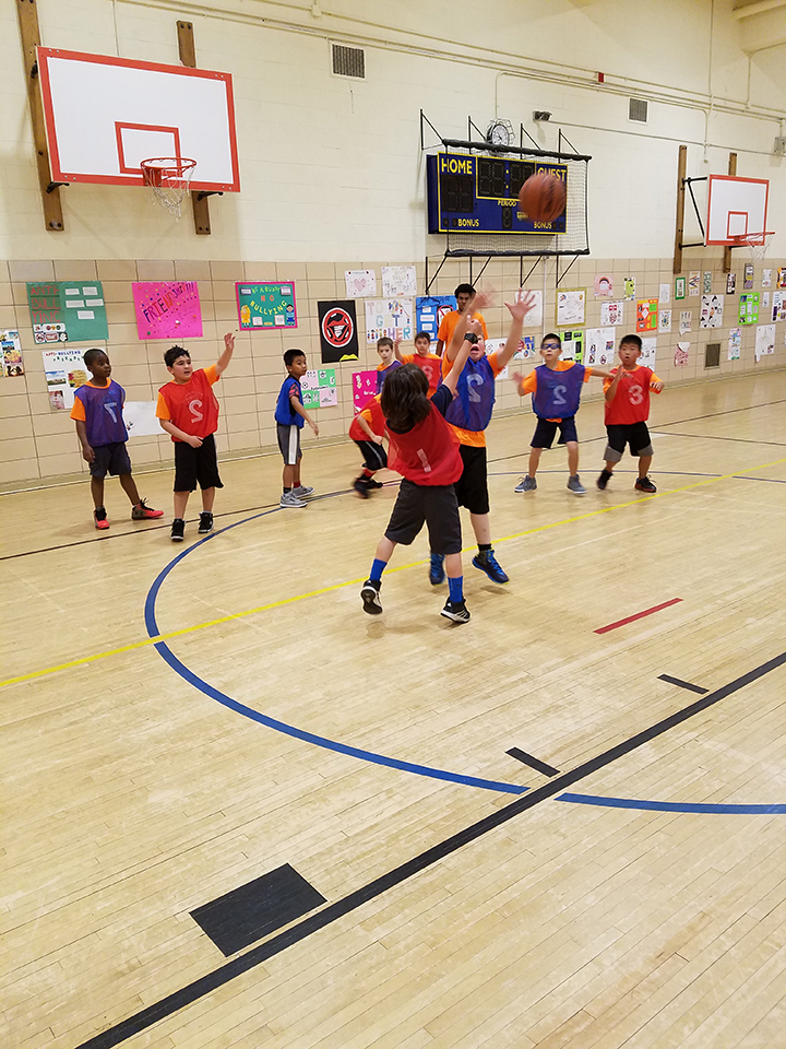 First Shot Basketball School jump shot